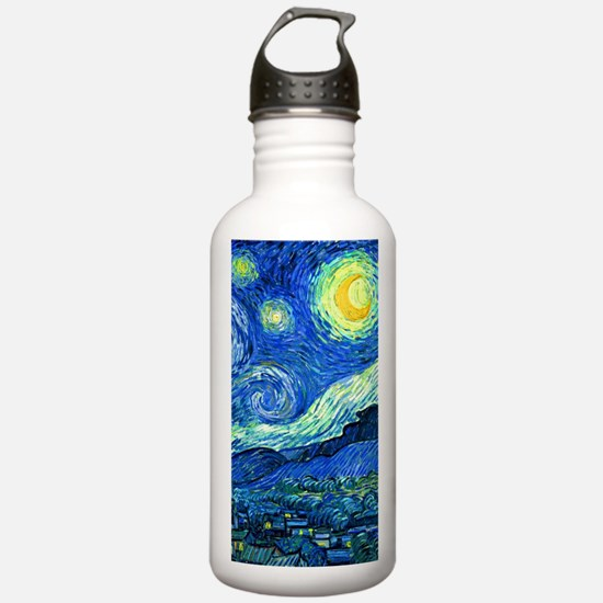 van gogh starry night Water Bottle