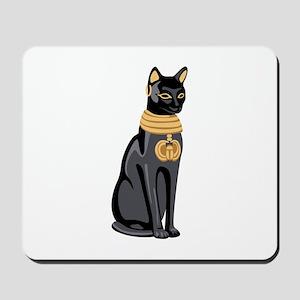 Egyptian Cat God Bastet Mousepad