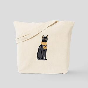 Egyptian Cat God Bastet Tote Bag