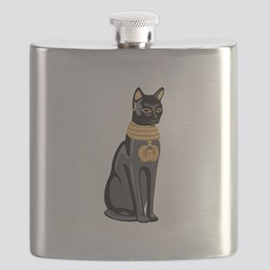 Egyptian Cat God Bastet Flask