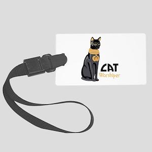 CAT Worshiper Luggage Tag