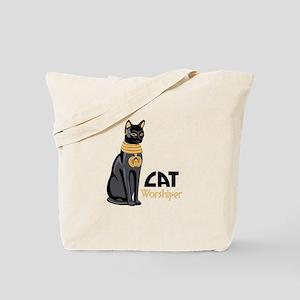 CAT Worshiper Tote Bag