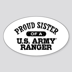 Army Ranger Sister Sticker (Oval)