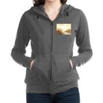 Misted Mountain River Passage Women's Zip Hoodie
