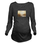 Misted Mountain River Passage Long Sleeve Maternit