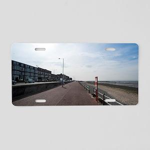 Promenade at Morecambe Aluminum License Plate