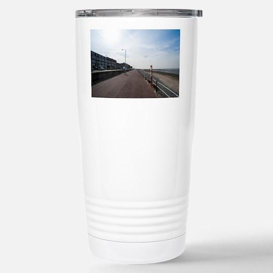 Promenade at Morecambe Stainless Steel Travel Mug