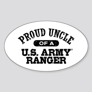 Army Ranger Uncle Sticker (Oval)