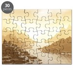 Misted Mountain River Passage Puzzle