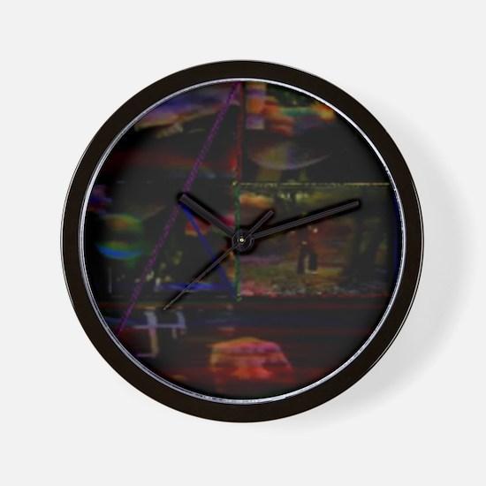 LSD Psychotherapy 3 by Brett Wall Clock