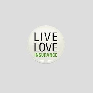 Live Love Insurance Mini Button