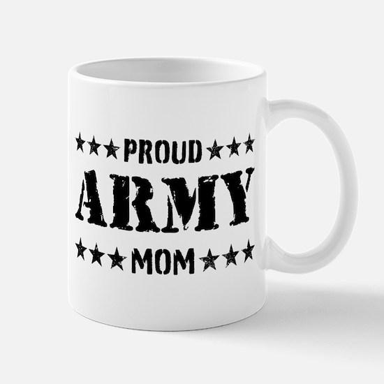 Proud Army Mom [v] Mug
