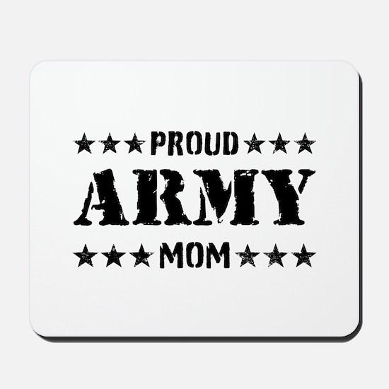 Proud Army Mom [v] Mousepad