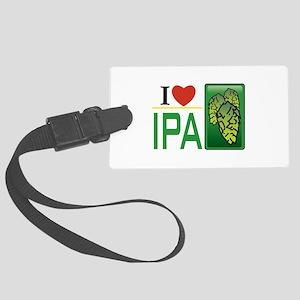 I Love IPA Luggage Tag