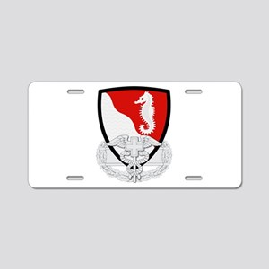 36th Engineer CFMB Aluminum License Plate