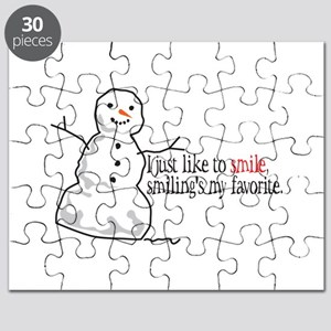I Just Like To Smile, Smilings My Favorite Puzzle