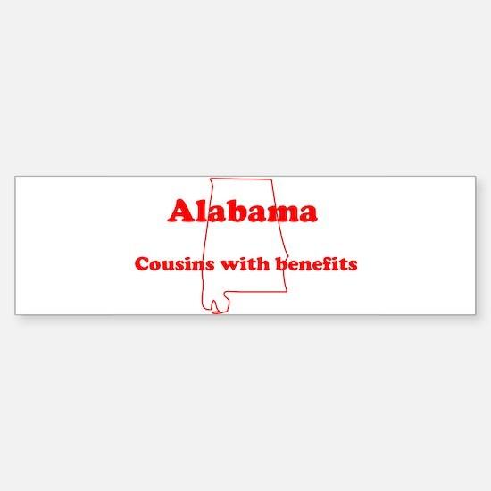 Alabama: Cousins Bumper Bumper Bumper Sticker