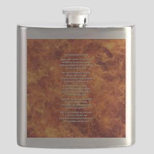 THE FIREFIGHTER'S PRAYER Flask