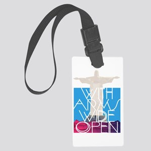 With Arms Wide Open Luggage Tag