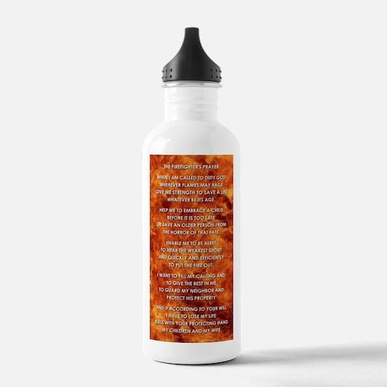 THE FIREFIGHTER'S PRAY Water Bottle