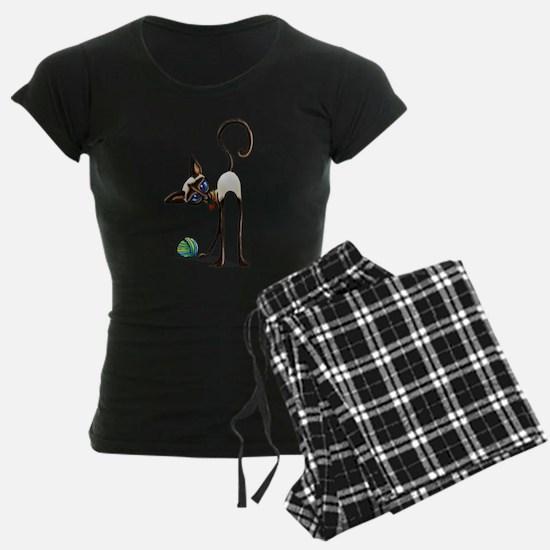 Siamese Yarn Thief Pajamas