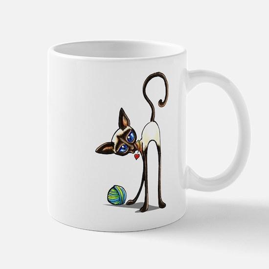 Siamese Yarn Thief Mugs