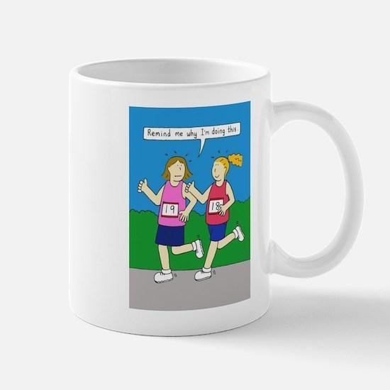 Running Encouragement for Women Mugs