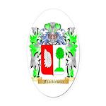Frackiewicz Oval Car Magnet