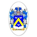 Frabbetti Sticker (Oval 50 pk)