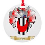 Foye Round Ornament