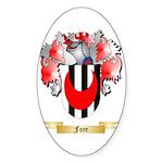 Foye Sticker (Oval 50 pk)