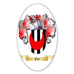 Foy Sticker (Oval 50 pk)