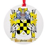 Foxley Round Ornament