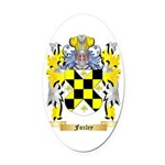 Foxley Oval Car Magnet