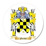 Foxley Round Car Magnet