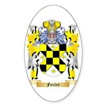 Foxley Sticker (Oval 50 pk)