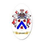 Foxhall Oval Car Magnet