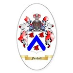 Foxhall Sticker (Oval)