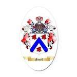 Foxell Oval Car Magnet