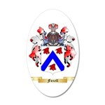 Foxell 20x12 Oval Wall Decal