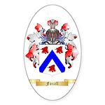 Foxall Sticker (Oval 10 pk)
