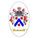 Foxall Sticker (Oval 50 pk)