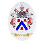 Foxall Ornament (Oval)