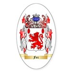 Fox Sticker (Oval 50 pk)