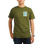Fox 2 Organic Men's T-Shirt (dark)