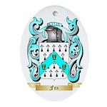 Fox 2 Ornament (Oval)