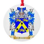 Fowler Round Ornament