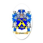 Fowler Oval Car Magnet