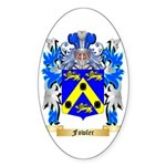 Fowler Sticker (Oval 50 pk)