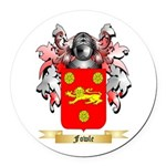 Fowle Round Car Magnet